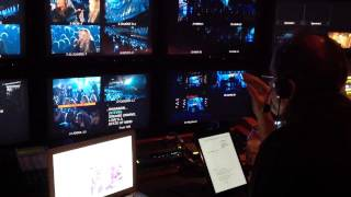 ACM's '14 Glenn Weiss uses Ipad directing Lady A featuring Stevie Nicks performance of Rhiannon.