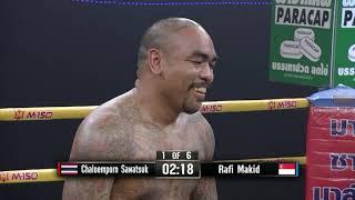 | Full-Fight | Chaloemporn Sawatsuk เฉลิมพล JM Gym vs Rafi Majid ราฟี่ มาจิด | 20 April 2019 |
