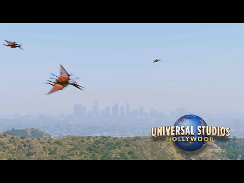 Dinosaurs Escape From Universal Studios Hollywood Jurassic World The Ride thumbnail