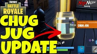 NEW CHUG JUG UPDATE !!! GETTING DOPE CLIPS ! LVL 100 // 250+ WINS // FortNite Battle Royale