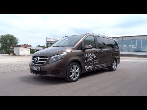 2015 Mercedes-Benz V 250 BlueTEC Start-Up and Full Vehicle Tour