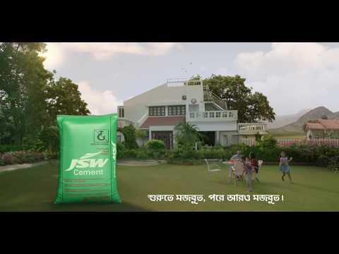JSW Cement TVC 2017 (Bengali)