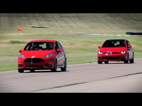 Fiesta St Or Gti Which Is Better On The Track Everyday Driver