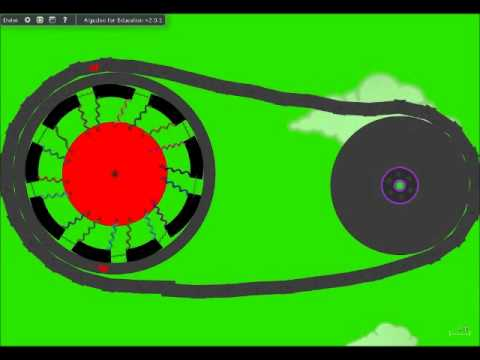 How a centrifugal clutch works - YouTube