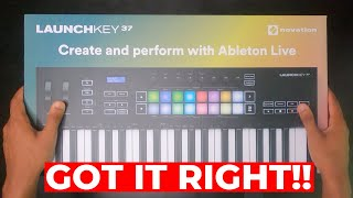 Novation Launchkey MK3 Unboxing - The PERFECT Keyboard for Ableton?