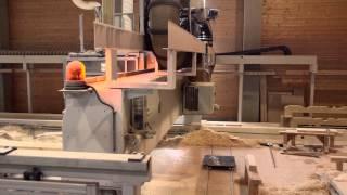 Abbund und Bearbeitung von Brettschichtholz Sonderbauteilen