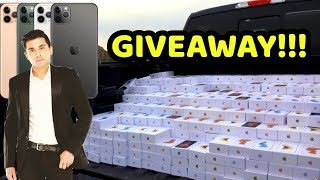 BIGGEST GIVEAWAY!!! iPHONE 11 Pro Max/Pro and More!!!