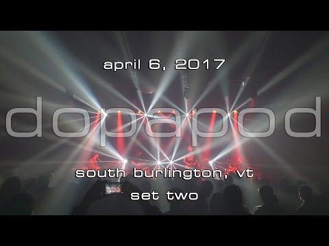 Dopapod: 2017-04-06 - Higher Ground; South Burlington, VT (Set 2) [4K]