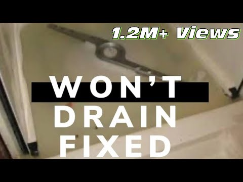 unclog dishwasher | DISHWASHER DOESN'T DRAIN -- 5 MINUTE FIX - YouTube