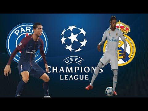 Real Madrid vs PSG - NEYMAR REAL MADRID / CRISTIANO RONALDO PSG - PES 2018