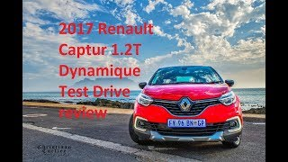 2017 Renault Captur 1.2T Dynamique Test drive review