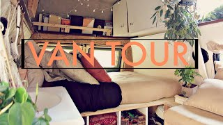 Van Tour | Chaฑdra & Andy's Bohemian DIY Camper Van