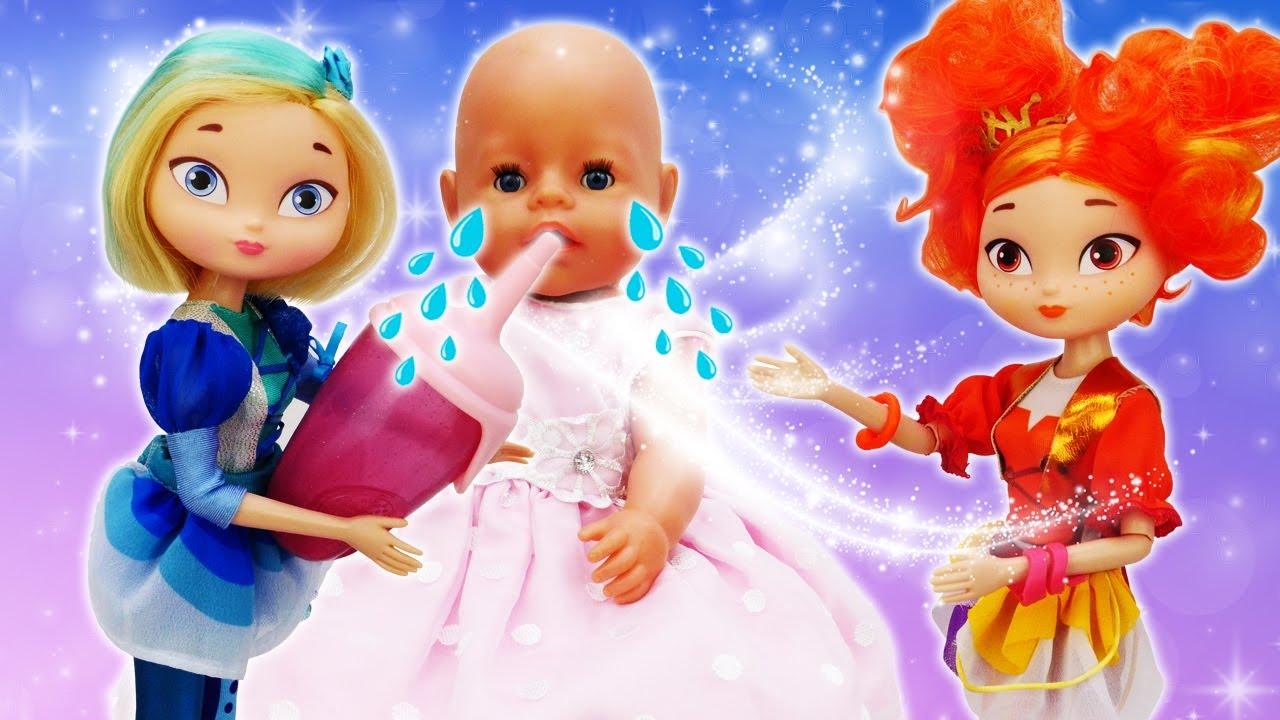 Куклы Сказочный Патруль ухаживают заБеби Бон— Видео для детей про игры вдочки-матери