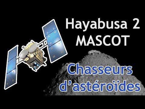 Hayabusa 2 et MASCOT à la conquête de Ryugu !