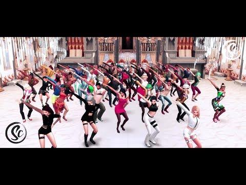 Sims 4 - Kill This Love (Flash Mob)