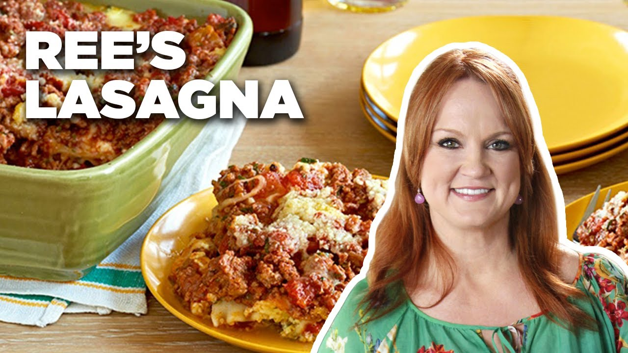 Rees hearty cowboy friendly lasagna food network youtube rees hearty cowboy friendly lasagna food network forumfinder Image collections