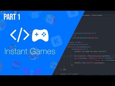 Facebook Instant Game Development Tutorial Part 1 thumbnail