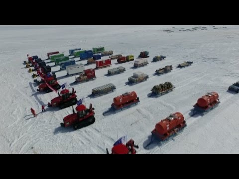 33rd Chinese Antarctic Inland Exploration Team Sets off for Kunlun Station