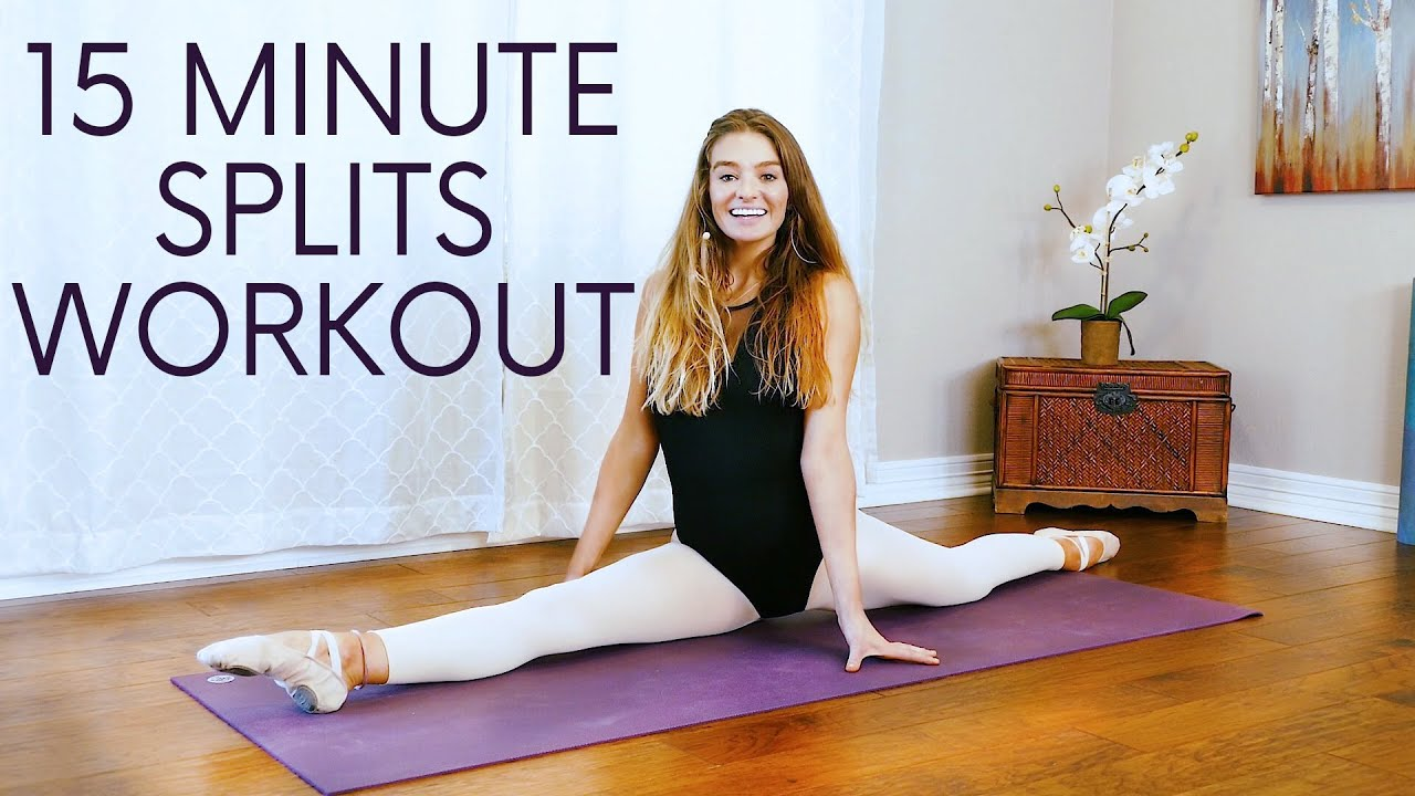 Splits Flexibility Ballet Stretches | 20 Min Stretch by Professional Dancer Nadine, How to, At Home