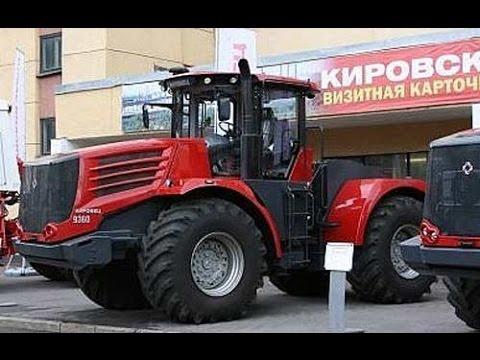 Новый отечественный трактор К-744 покоряет поля России