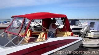 Тент и дуги на катер Nikol - Tent for boat Nikol(Ателье