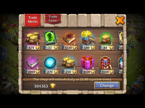 Fast Raiding Hero Expedition Plus Gaining 500,000 Merits Castle Clash