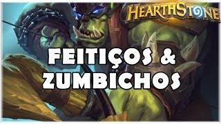 HEARTHSTONE - FEITIÇOS & ZUMBICHOS! (STANDARD SPELL HUNTER)