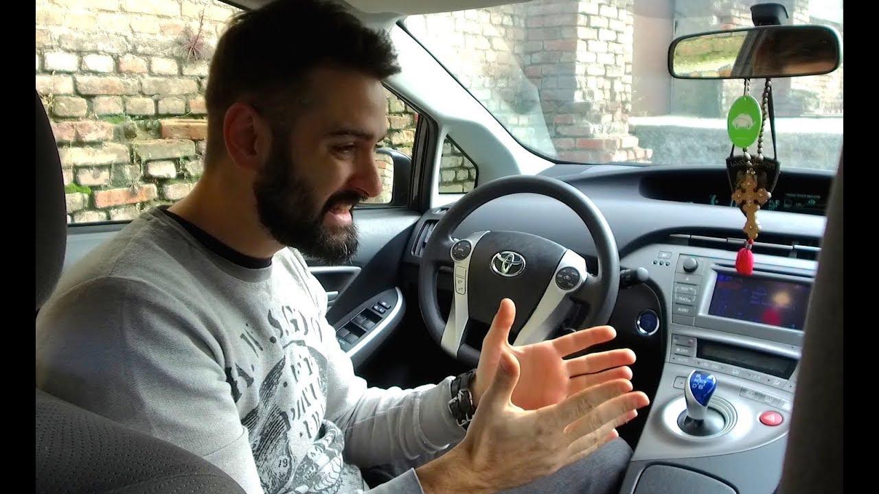 უხეში ტესტ დრაივი  PRIUS  ნაგავი თუ უბრალოდ კარგი მანქანა Rough Test Drive