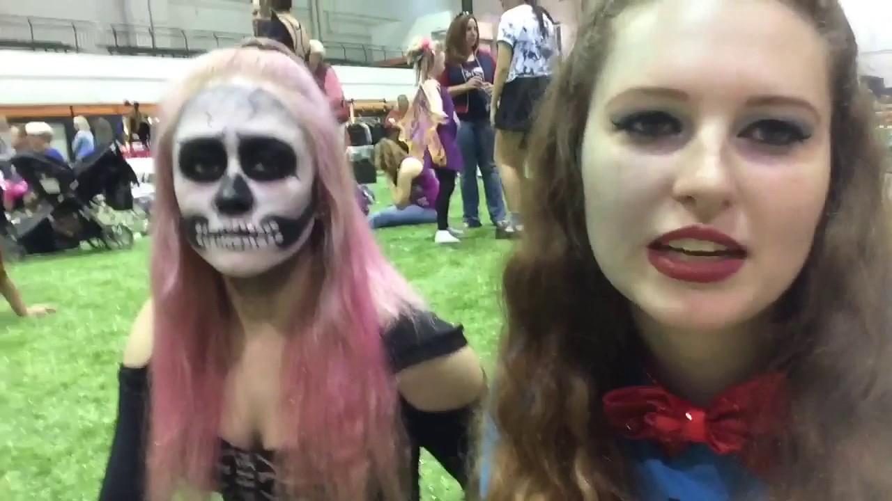 halloween black white feis vlog - Halloween Feis