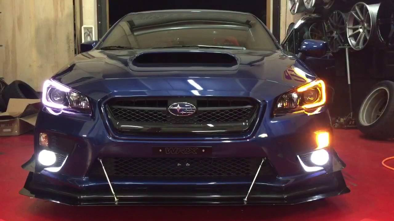 Rodspeed 2015 Subaru Custom Headlights Youtube