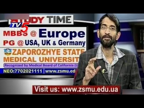 Experts Suggestions For MBBS & PG In Abroad | Zaporozhye State Medical University | TV5 News