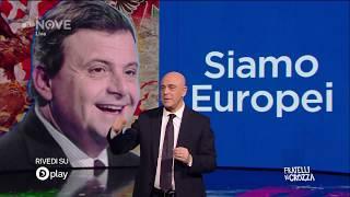 Crozza e il suo monologo sulla sinistra italiana
