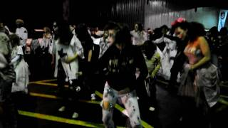 Getting Ready for the big thrill (Thrill The World Montreal 2009)