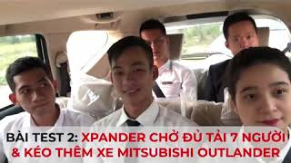 Test sức mạnh, độ khoẻ của xe Mitsubishi Xpander! Hotline: 0911843456