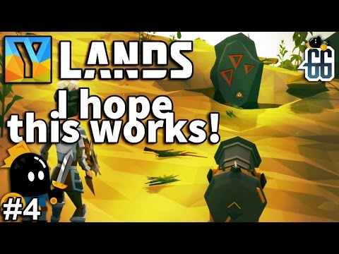 Ylands - This stone has to go!  Prepairing to escape the Island! - EP4