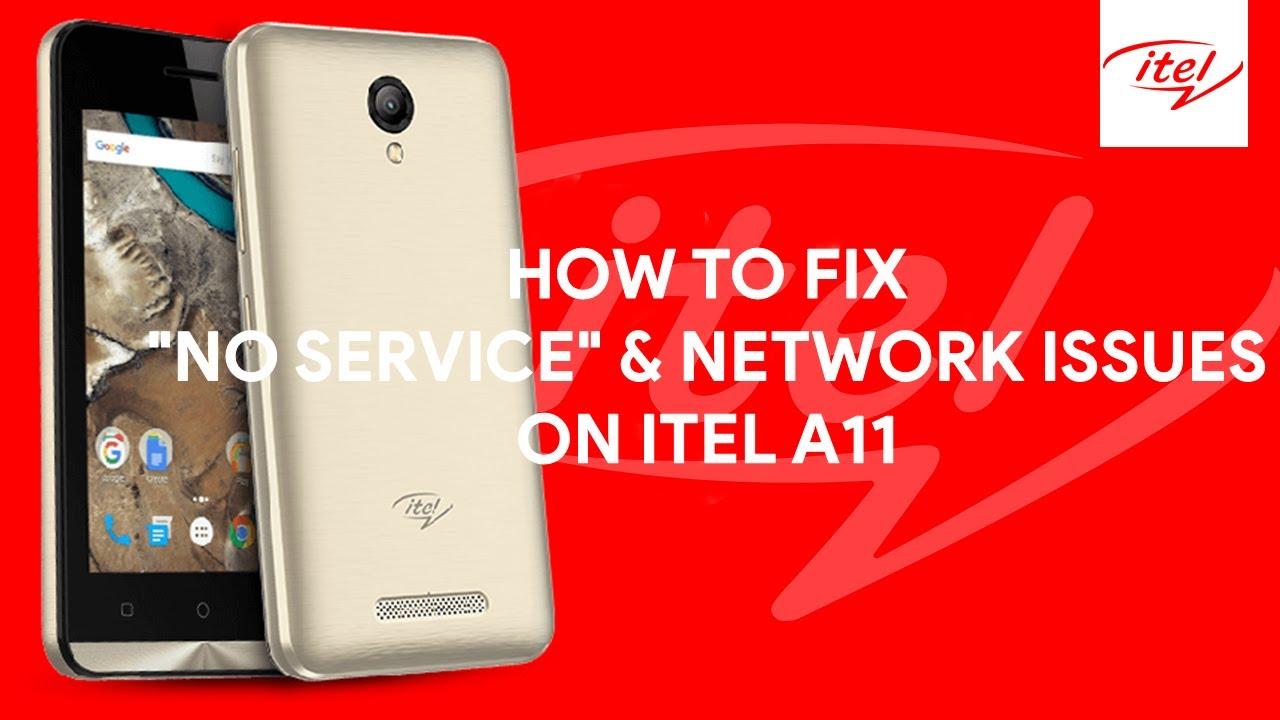 Itel A11 Imei Repair