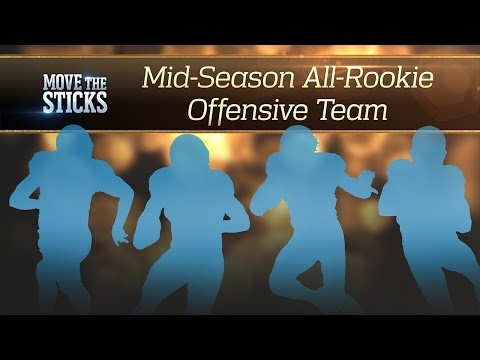 All-Rookie Offensive Team - 2016 Midseason | Move the Sticks | NFL