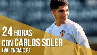 24 horas con un futbolista profesional: Carlos Soler, jugador del Valencia CF