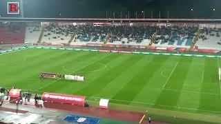 Himna Srbije pred odlučujući meč na Marakani!