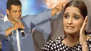 Salman Khan ANGRY with Sonam Kapoor | UNCUT VIDEO