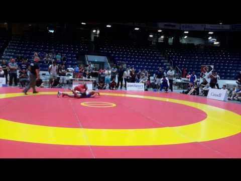 2016 Canada Cup: 61 kg Final Yowlys Bonne Rodriguez (CUB) vs. Adam MacFadyen (CAN)