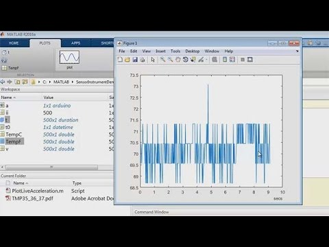 Log Temperature Data from Arduino into MATLAB