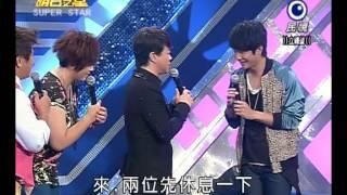 明日之星20121006藝人交流賽(翁立友) Video