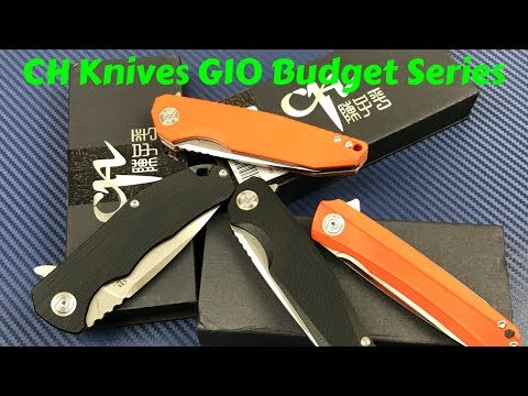 CH Brand Budget Series G10 Knives   A whole new offering in the budget user knife marketplace