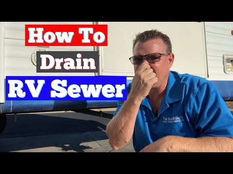 how-to-drain-rv-sewer
