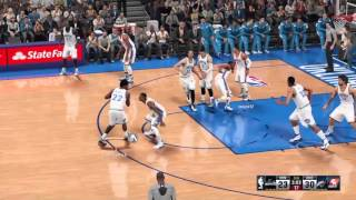 Andrew Wiggins Dunks on Kevin Durant NBA2k16