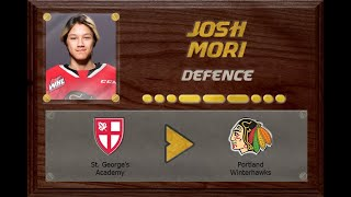 Josh Mori - CSSHL to WHL | Stand Out Sports Client Hall of Fame