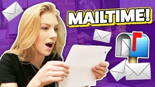 MAILTIME WITH THE SMOSH SQUAD! (Squad Vlogs)