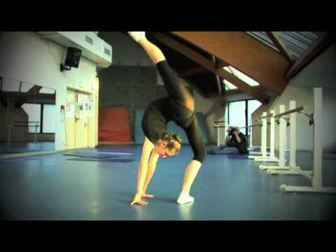 Rhythmic Gymnastics Training - All that I'm Living For (HD)