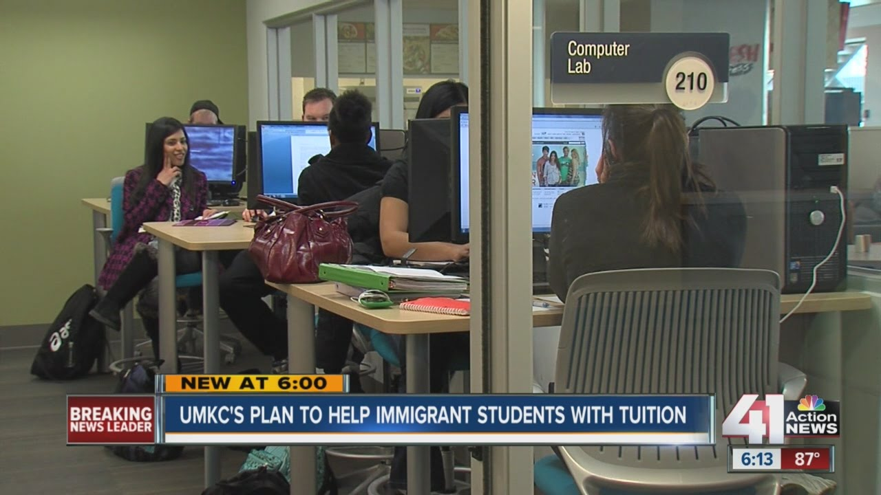 UMKC's plan to help immigrant students with tuition